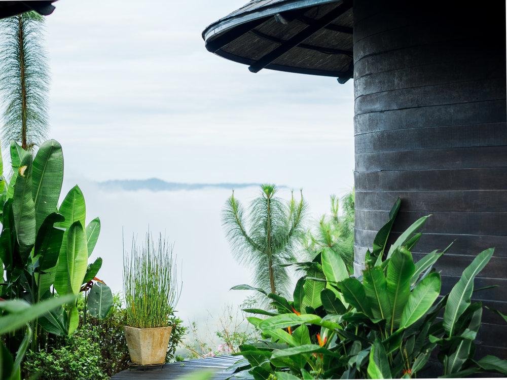 ทะเลหมอก - ห้องพักประเภท Erotic Sense สามารถเห็นทะเลหมอกได้จากบนเตียงได้ทุกห้อง