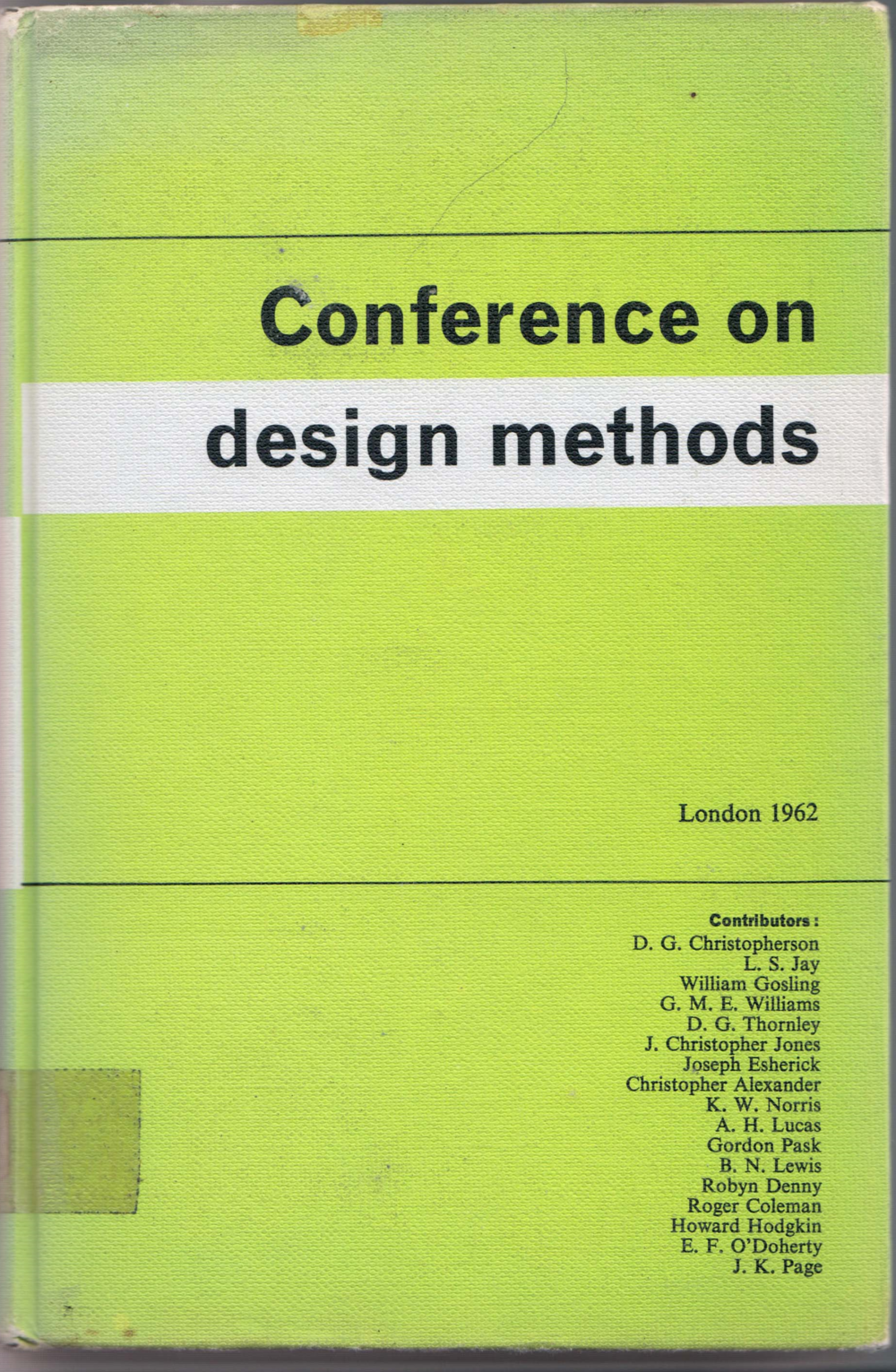 1962 Conference on Design Methods