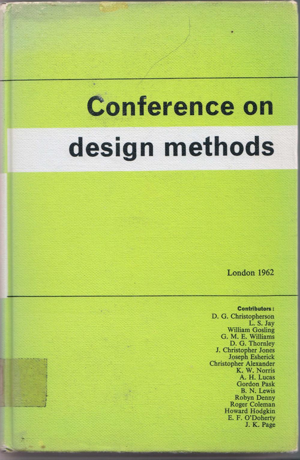 1962 Conference on Design Methods