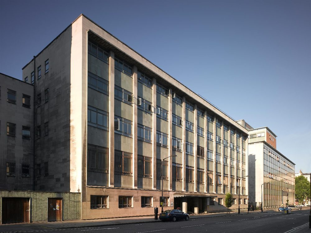 Roderic Hill Building, Prince Consort Road, London. Home of the Imperial College London Aeronautical Department and of the 1962 Conference on Design methods.(image: ICL website)