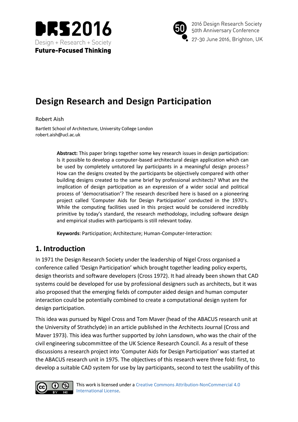 research paper on human computer interaction