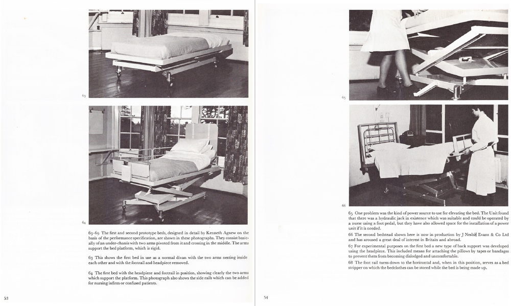 A double-page from Industrial Design and the Community (Baynes 1967).