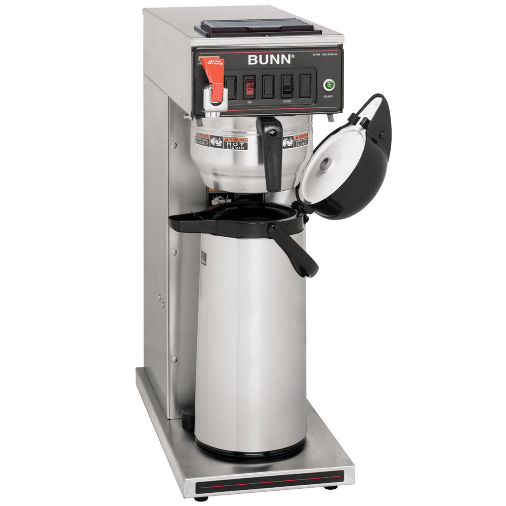 Bunn CWT 15 Airpot Brewer (shown with gourmet basket)