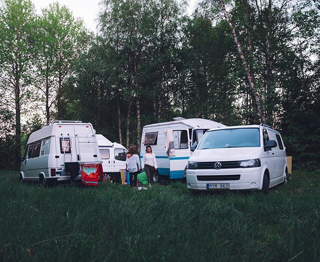 Van life in the no-where. Forrest festival - Kroksjöbalunsen 2017