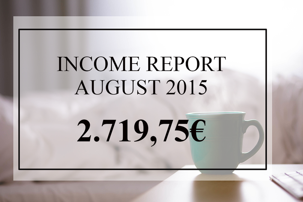 melinda.ninja august 15 income report