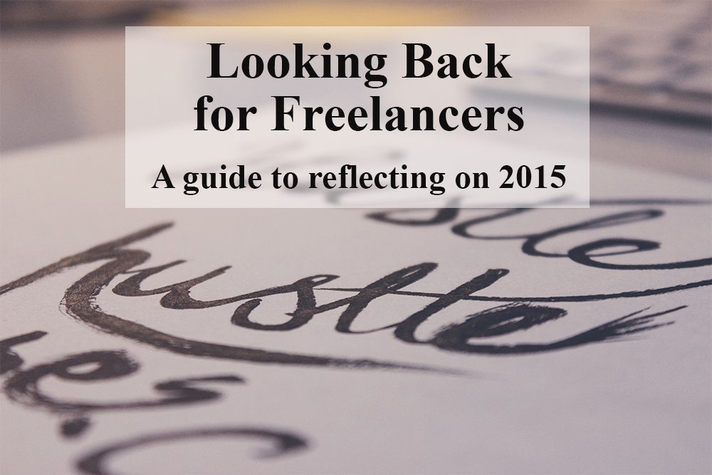 Looking Back for Freelancers: A free worksheet