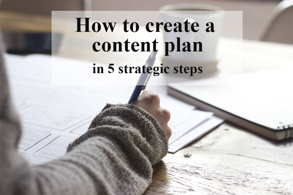 Create the perfect content plan for your business in 5 easy steps!