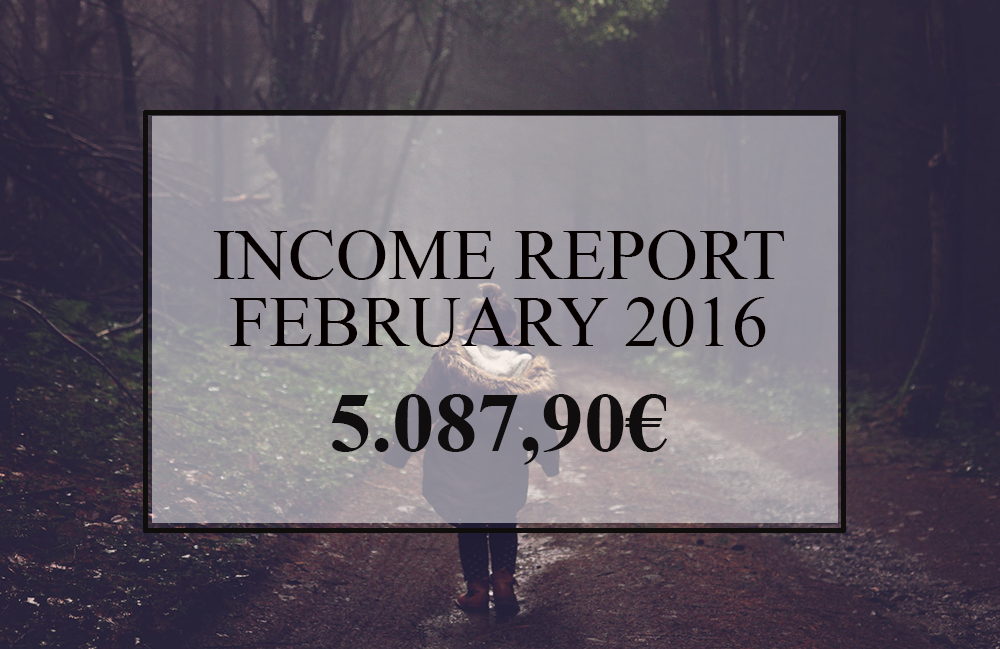 Income Report Melinda Feb 2016