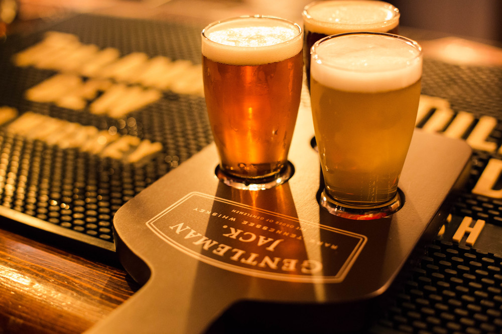 CAN'T DECIDE? TRY A FLIGHT OF ANY 3 DRAFT BEERS FOR ONLY $5!