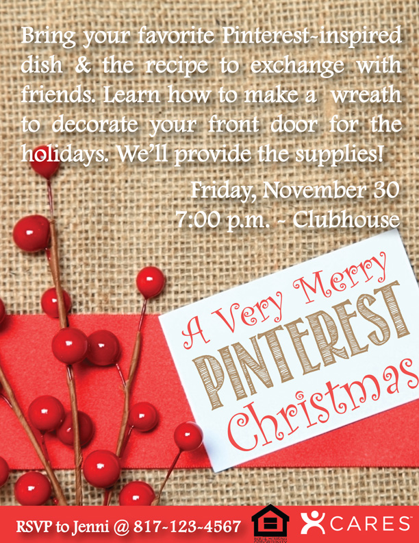 Pinterest Christmas Party2