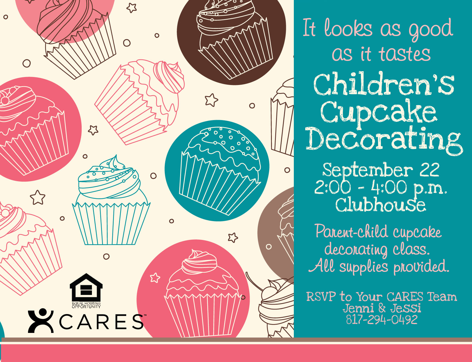 Cupcake Party Flyer