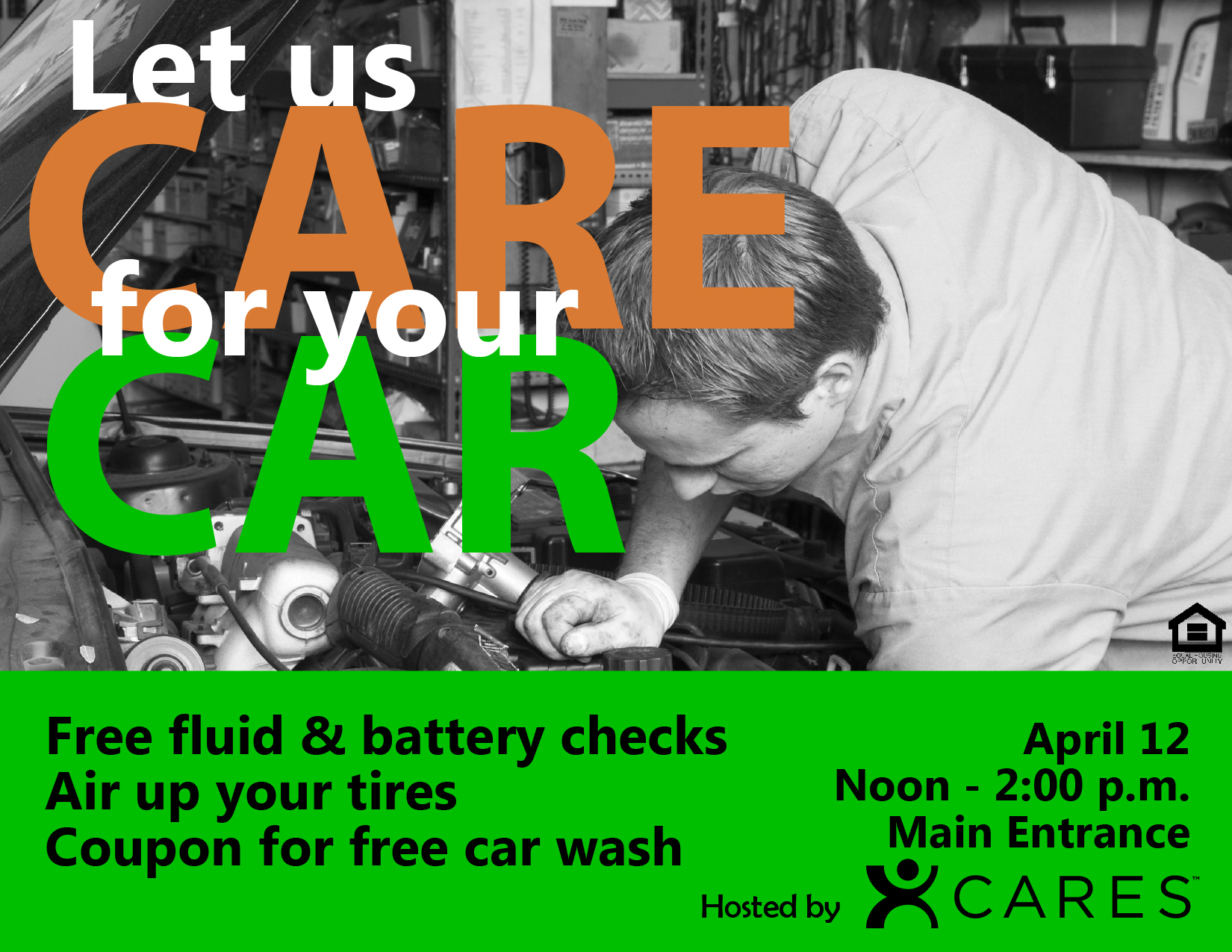 Car CARE Flyer