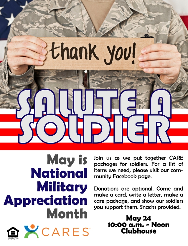 Salute a Soldier