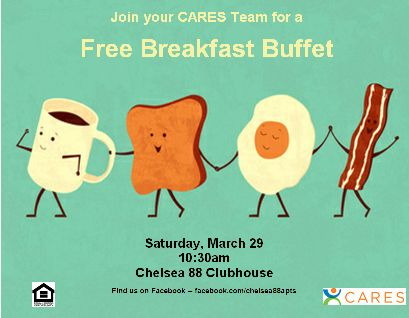 breakfast buffet apartment life idea blog