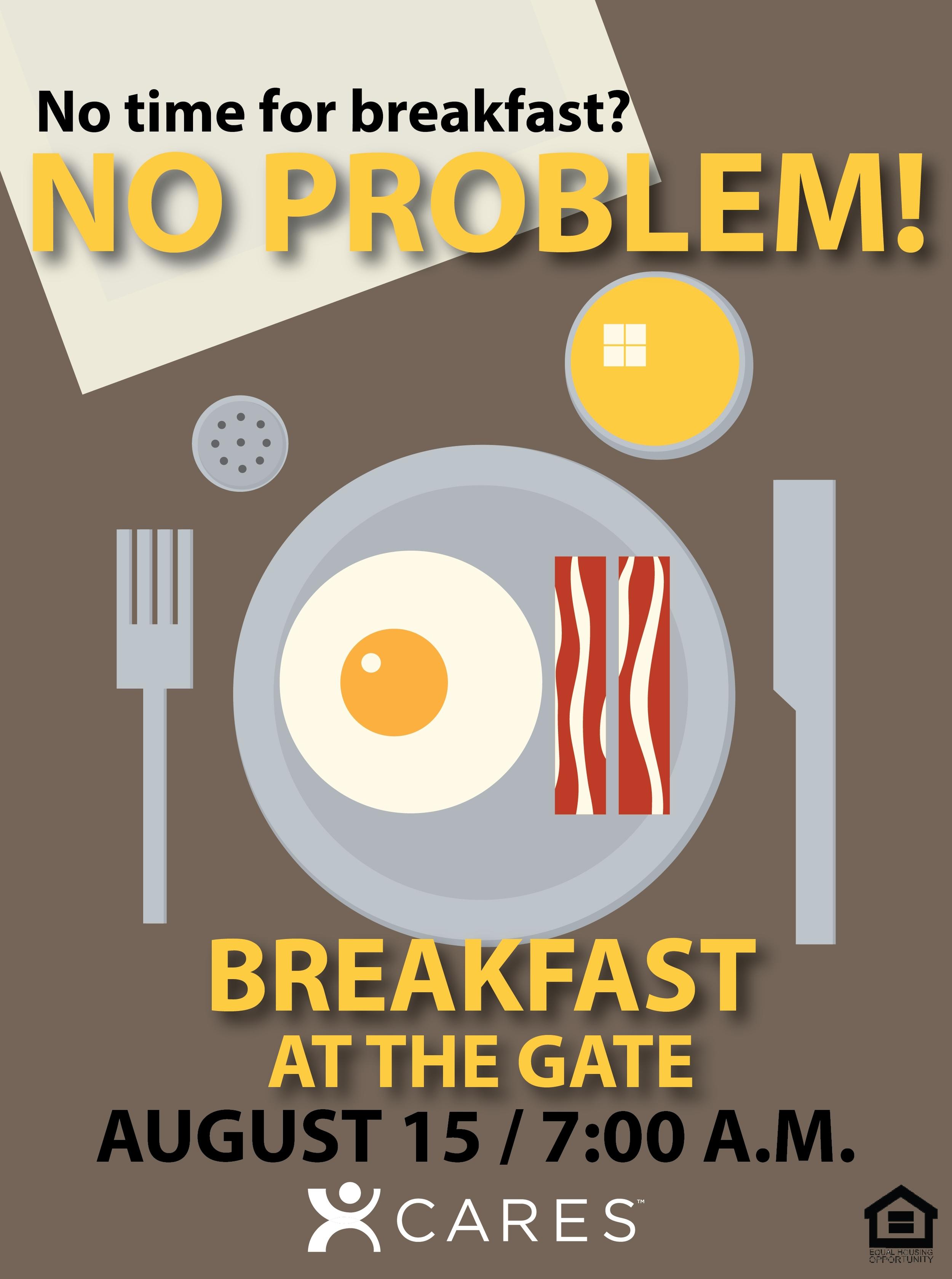 cares event staple breakfast on the go apartment life idea blog