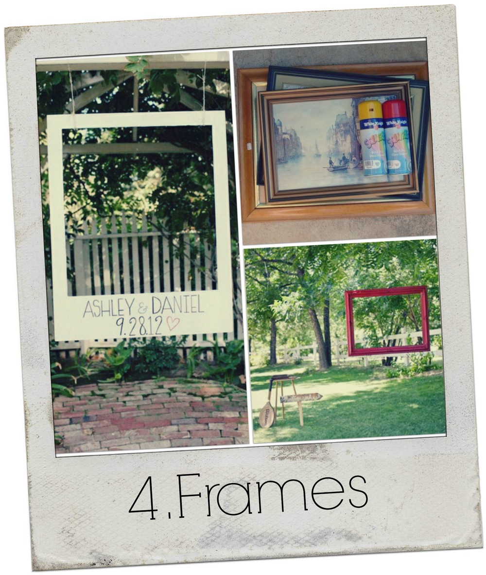 Collage Frames Text