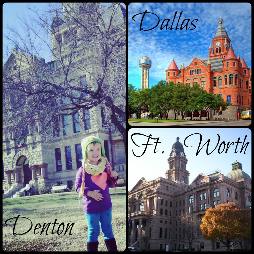 dfw courthouse Collage