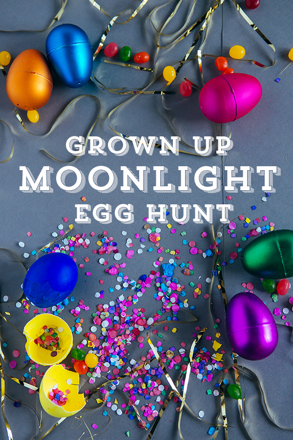 grown up egg hunt