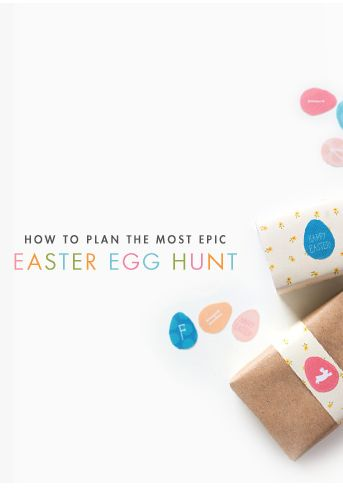 kid's easter egg hunt