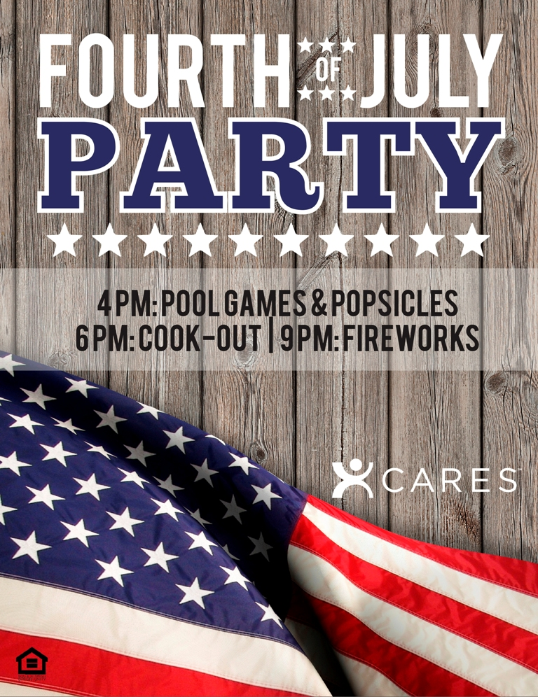 fourth of july parties two flyers the idea blog