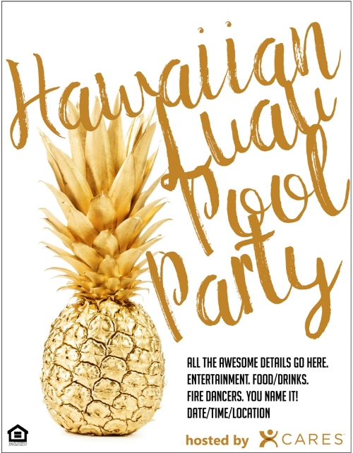 hawaiian luau apartment life idea blog
