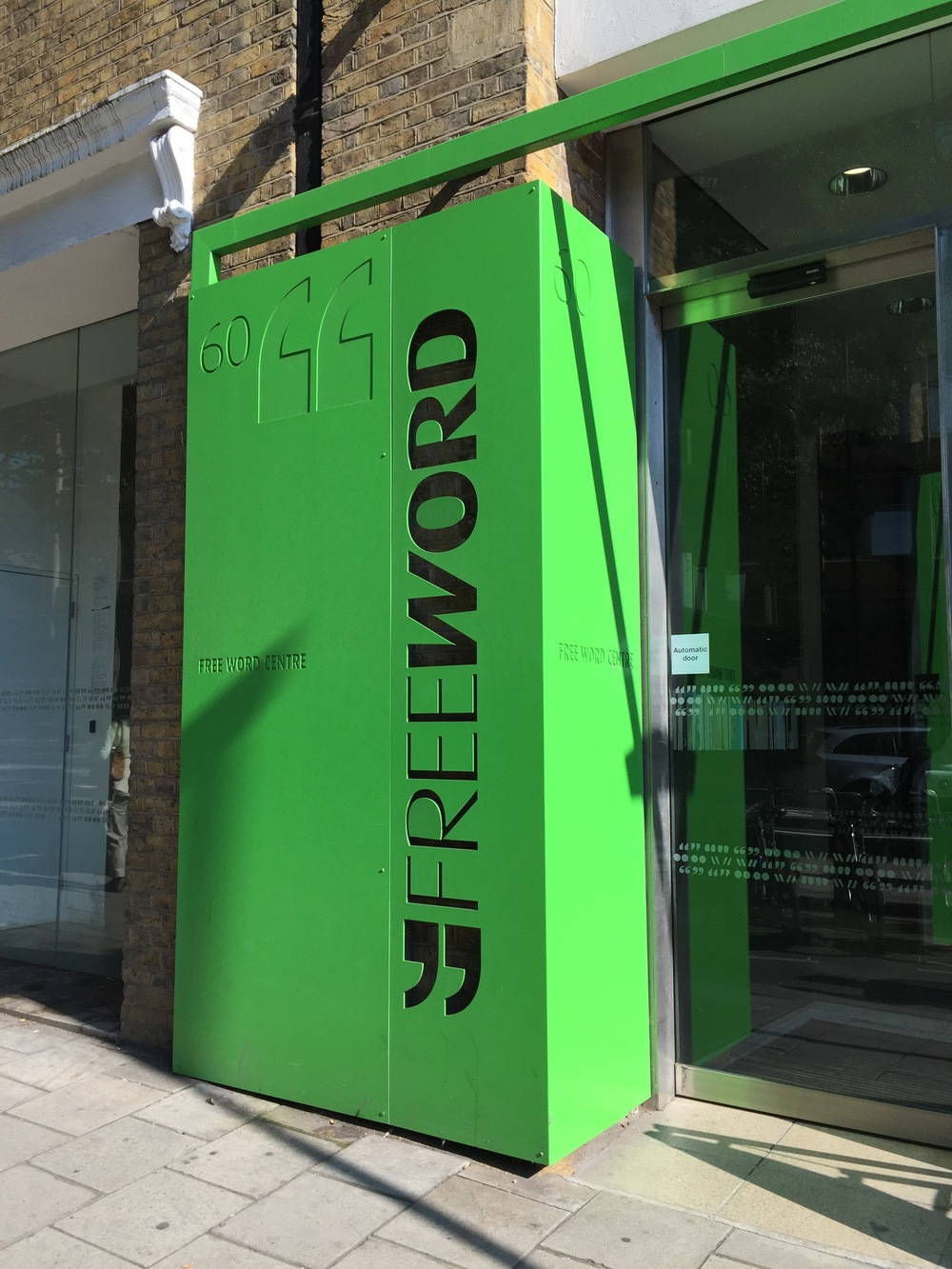 Free Word Centre in Farringdon