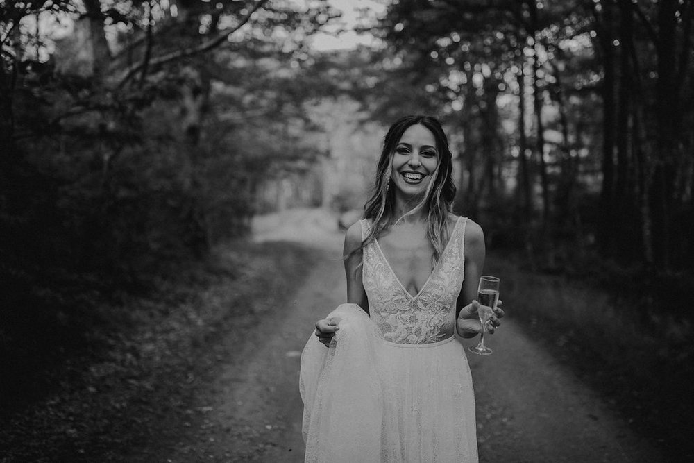give us all of the forest princess boho vibes! patricia got married at the twickenham house, just outside of asheville nc.