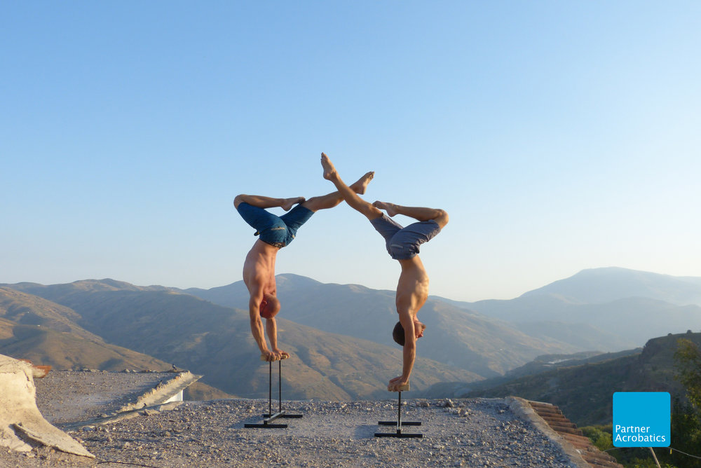 Taken on site at Partner Acrobatics Teacher Training in Spain, August 2016.