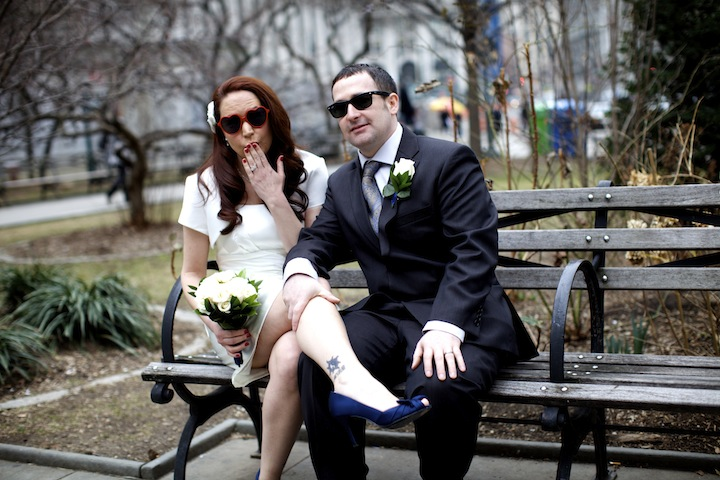 jennifer and tony have got to be one of the most fun couples ive photographed on an elopement she completely tickled me by busing out her funky glasses