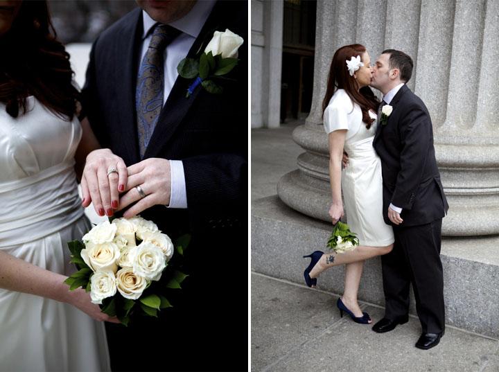 9 nyc city hall wedding photos
