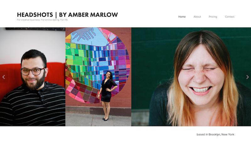Amber Marlow Headshots | Brooklyn Portrait Photographer