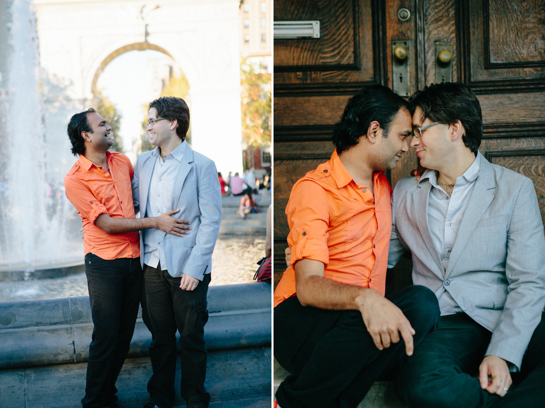 gay engagement photos NYC 1