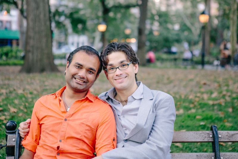 gay engagement photos NYC 8