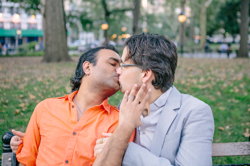 gay engagement photos NYC 9