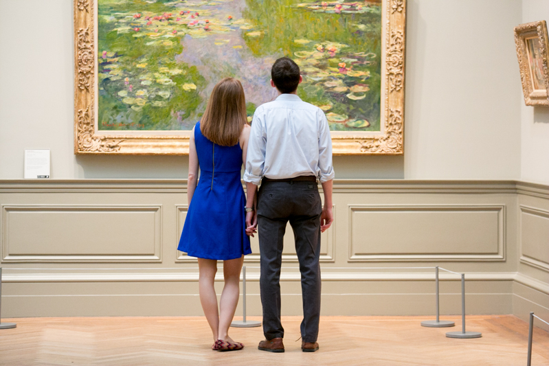 metropolitan museum of art engagement photos