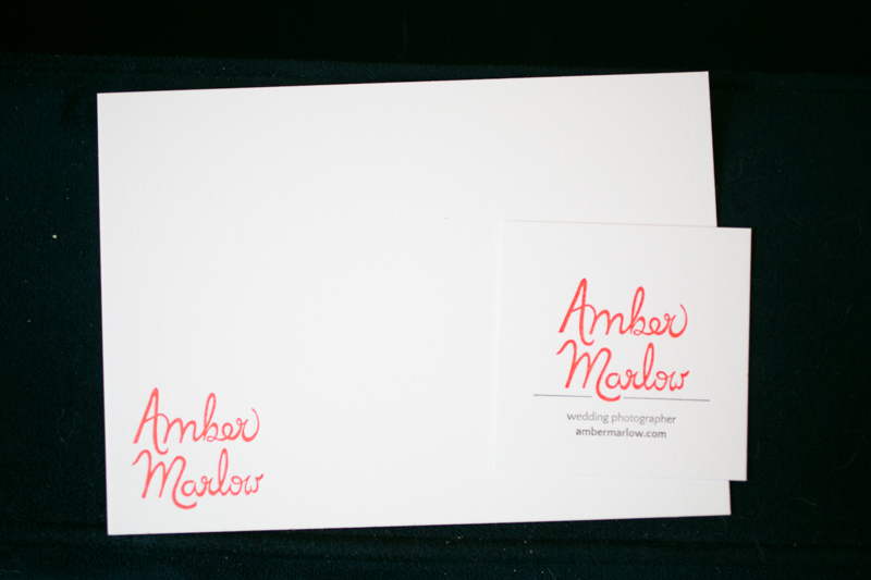 elopement photographer business cards