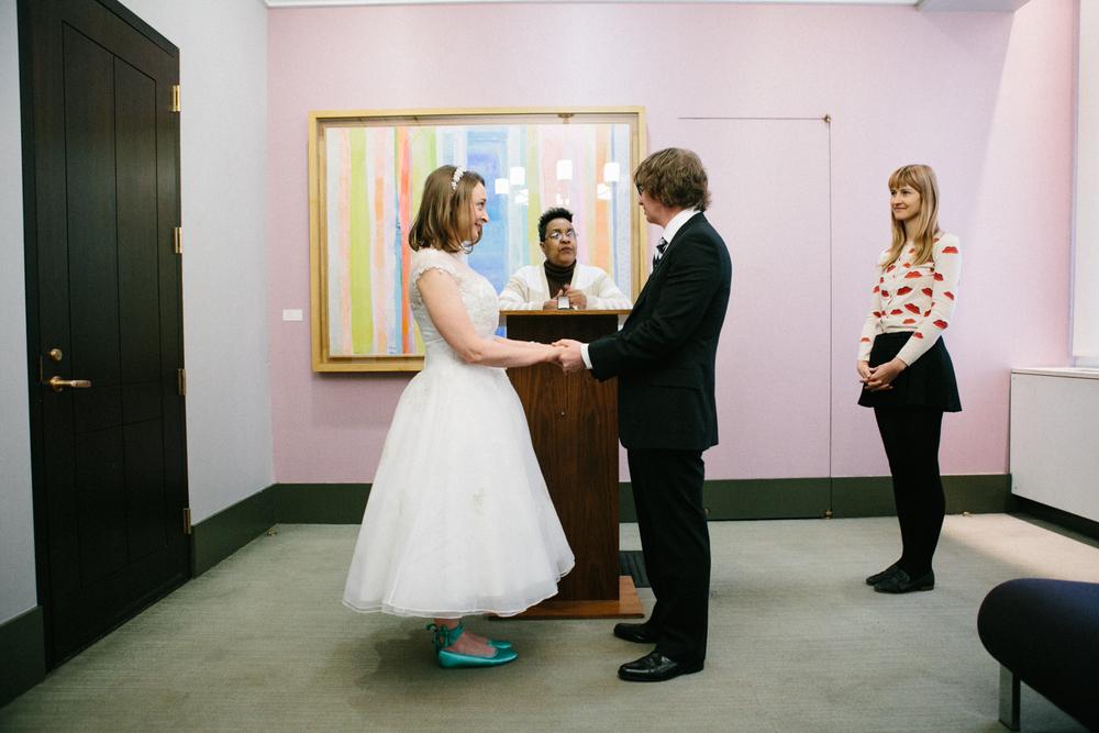 city hall wedding manhattan