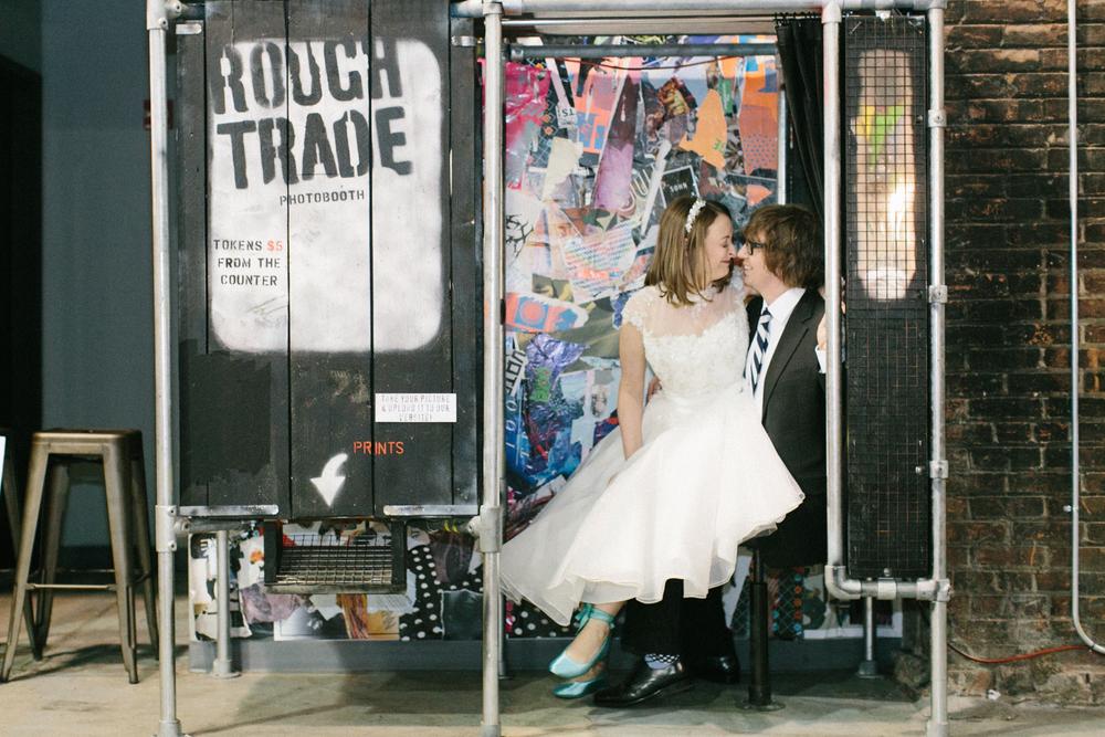 rough trade photo booth