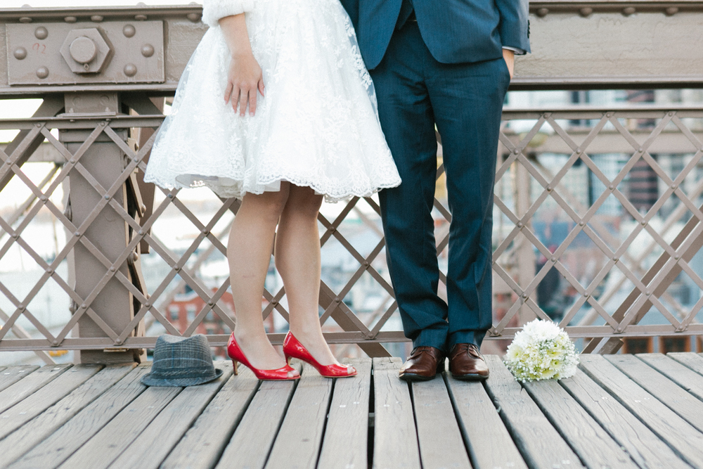 eloped on the brooklyn bridge