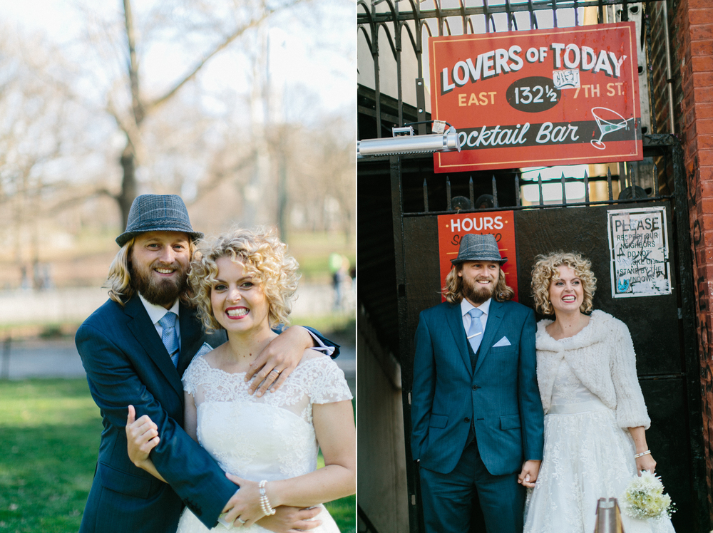 east village wedding photos