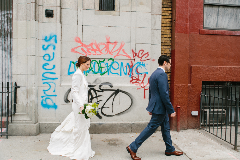 manhattan elopement photos