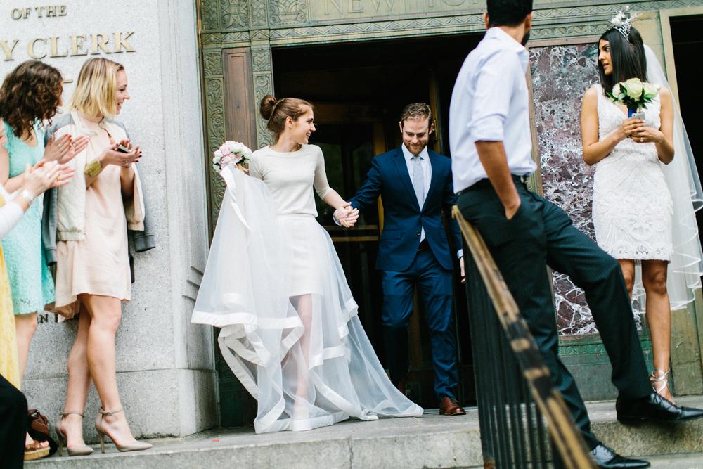 manhattan city hall wedding