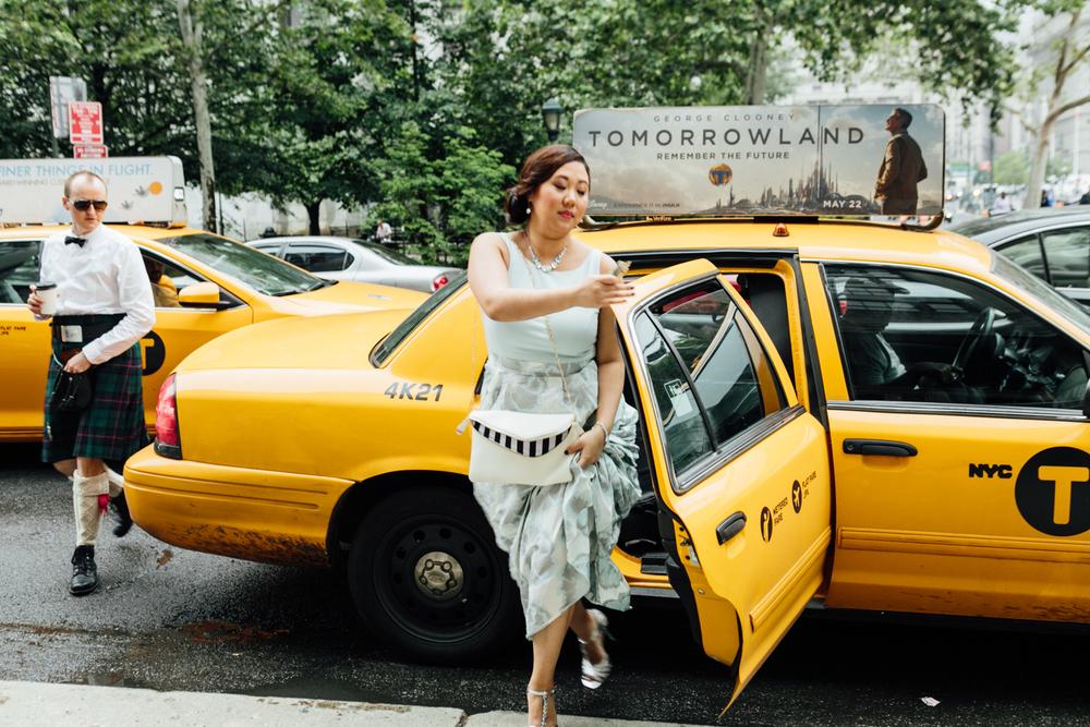 taxi disembarkation