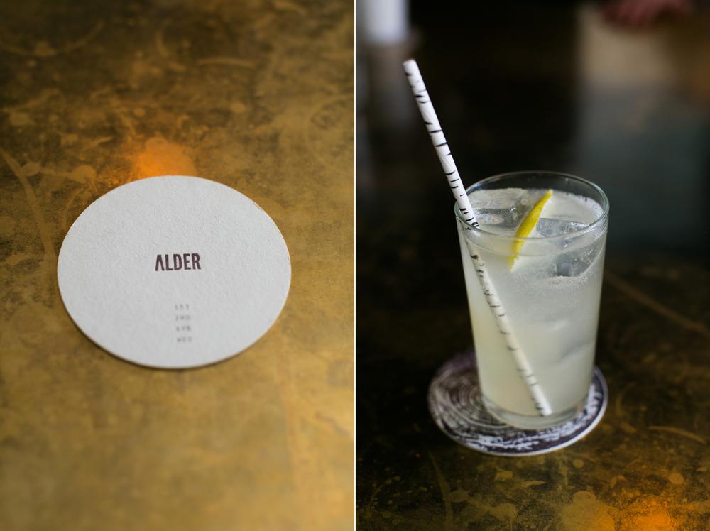 alder coaster & beverage