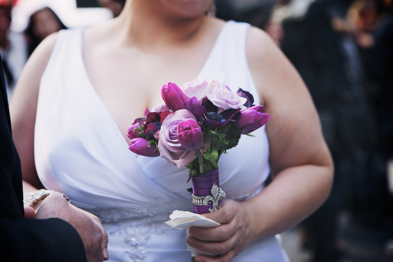 nyc elopement times square photos
