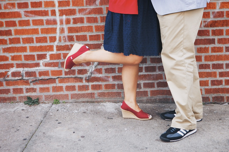 park slope engagement photos