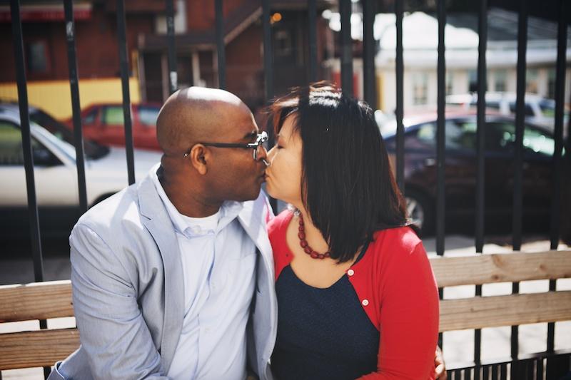 New York City engagement photos brooklyn