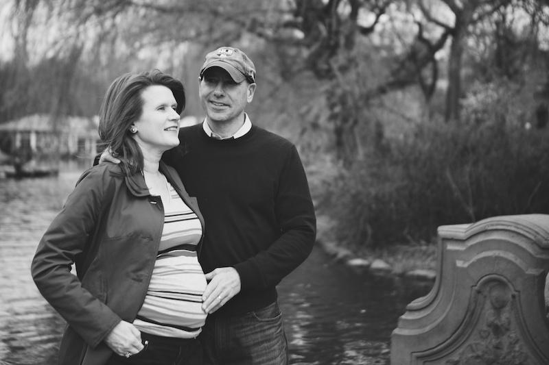 central park maternity photos