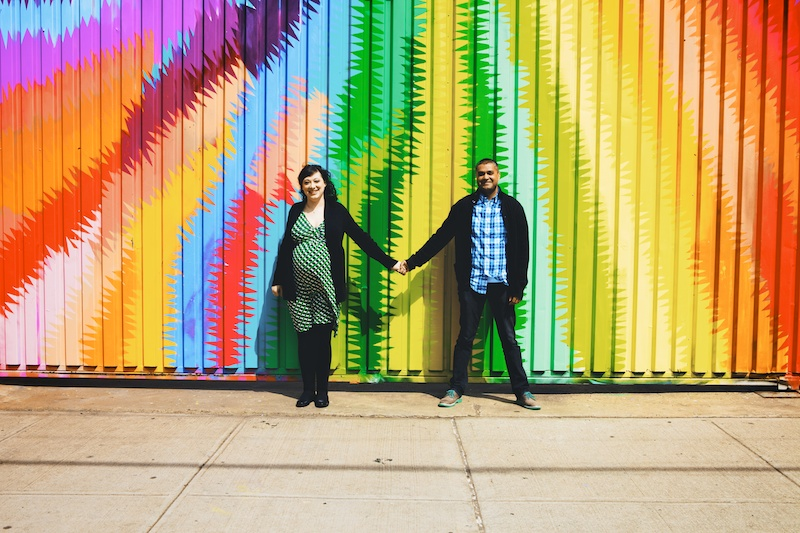 bushwick maternity photographer