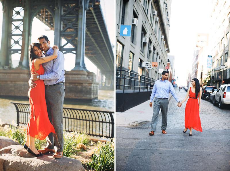DUMBO engagement photography